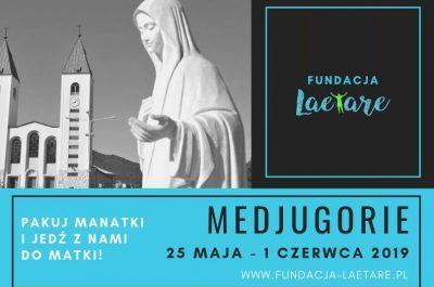 Fundacja Laetare-Mediugorje 2019