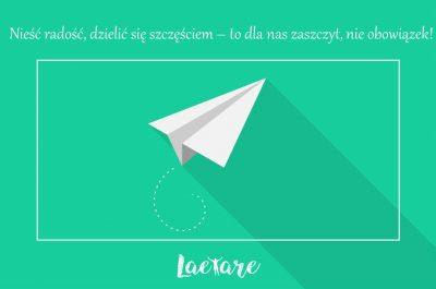 Fundacja Laetare_cykl dobrych myśli